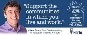 David Porte, Porte Deveopment Corp