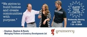 Stephan Luking, Daphne Luking-Klassen, Randy Klassen - Gramercy Developments