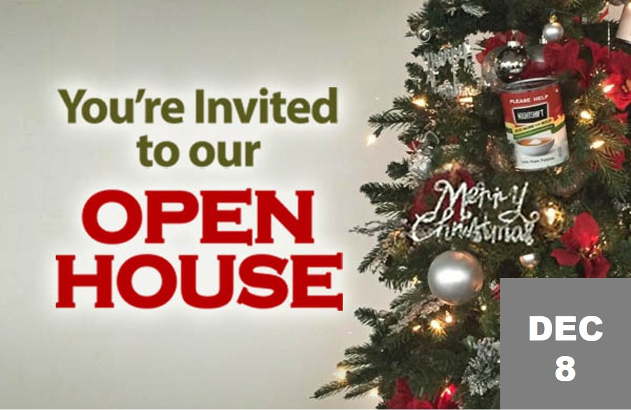 Open House website home page