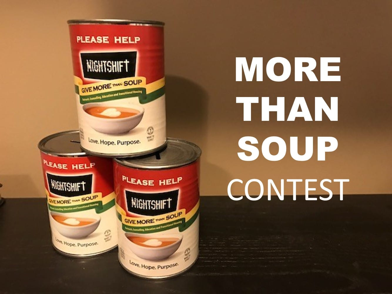 More Than Soup Contest home page